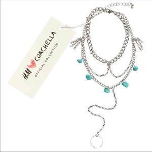 NWT Coachella anklet foot bracelet jewelry